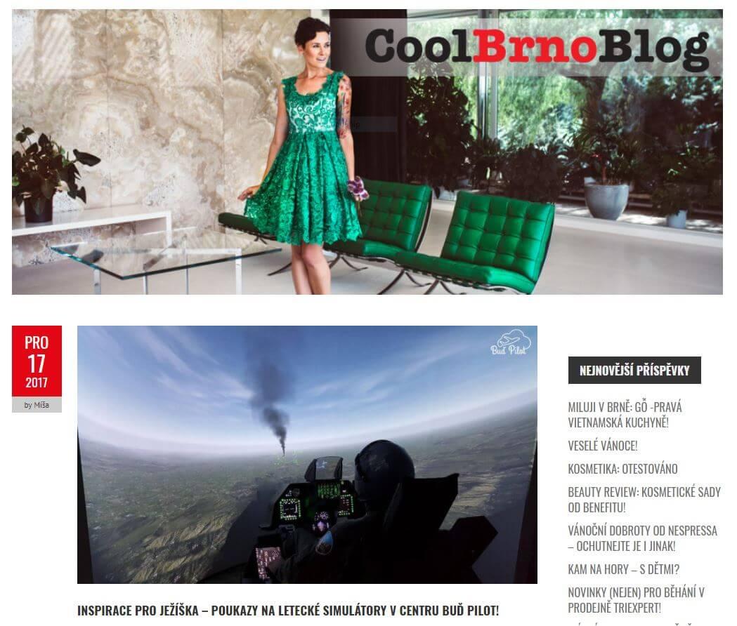 Článek na Cool Brno Blogu
