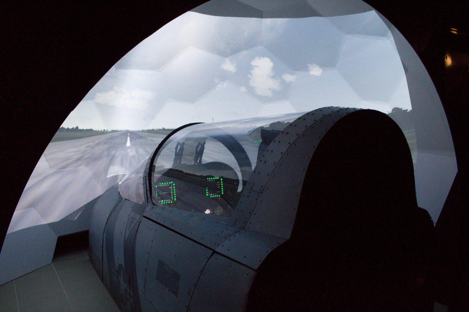Simulátor F/A-18 Hornet